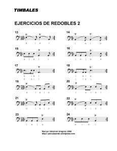 TIMPANI REDOBLES 2
