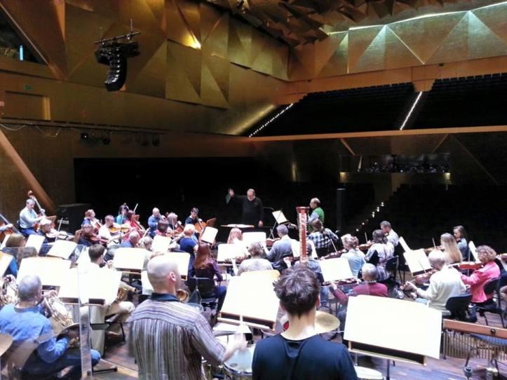 Con Jorge en Orquesta Szczecin