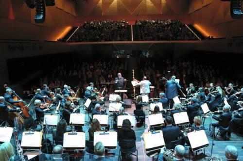 Con Jorge en Polonia Orquesta